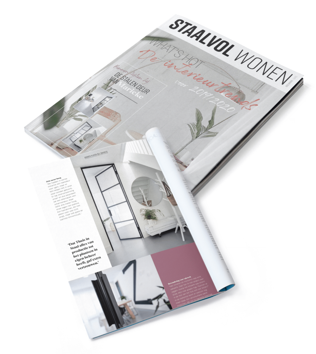 staalvol wonen magazine thuis in staal
